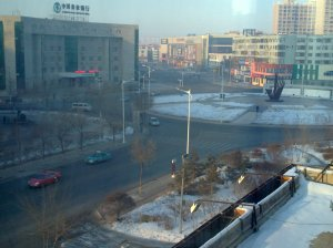 imlek at daqing, quiet city
