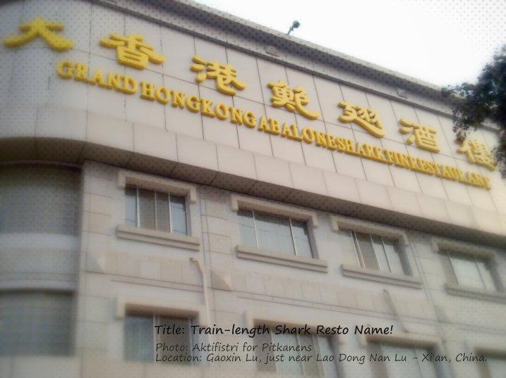 grand hongkong abalone, shark restaurant, merk dagang, banner