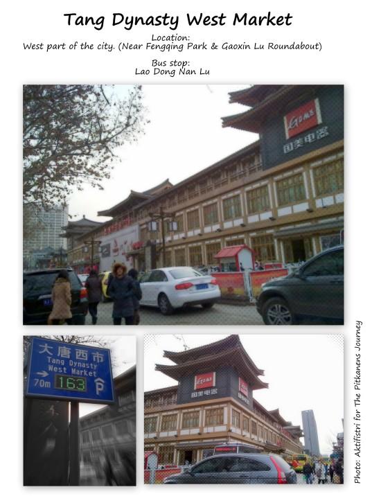 tang dynasty market, xian