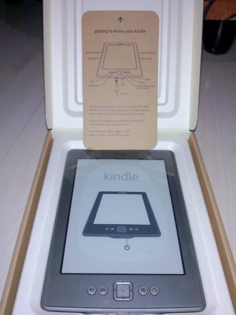 Kindle pertamaku