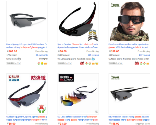 bulletproof sunglasses