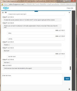 Skype chatsupport8end